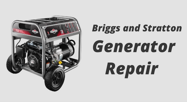 briggs-and-stratton-generator-repair