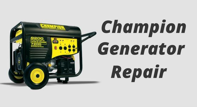 champion-generator-repair