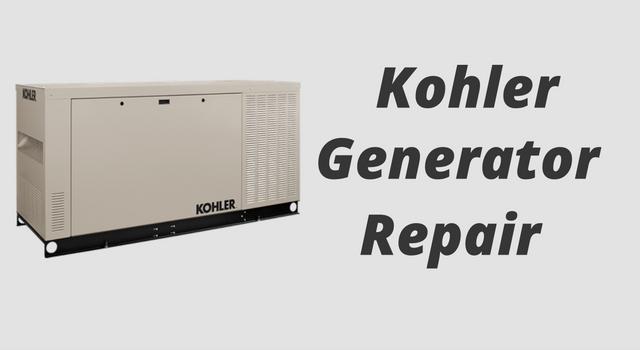 kohler-generator-repair
