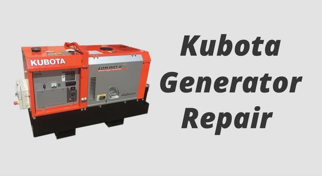 kubota-generator-repair