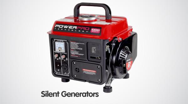 silent-generators